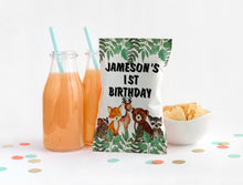 Load image into Gallery viewer, EDIT YOURSELF- WOODLAND BIRTHDAY CHIP BAG