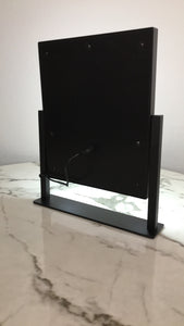 Small Travel Size LED Desk Mirror
