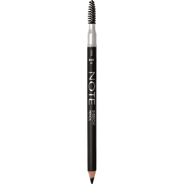 Eyebrow Pencil-NOTE-01 Black Eyebrow Pencil-Note Beauty