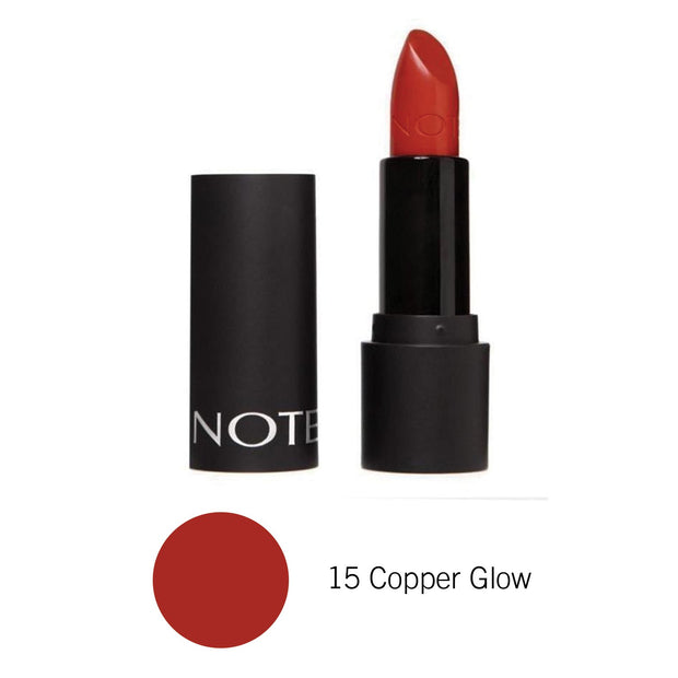 Long Wearing Lipstick-NOTE-15 Copper Glow Lon-Note Beauty