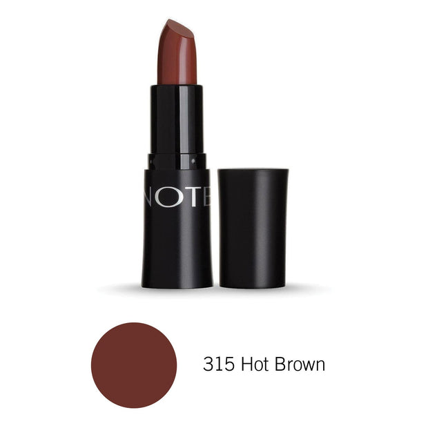 Mattemoist Lipstick-NOTE-315 Hot Brown Mat-Note Beauty