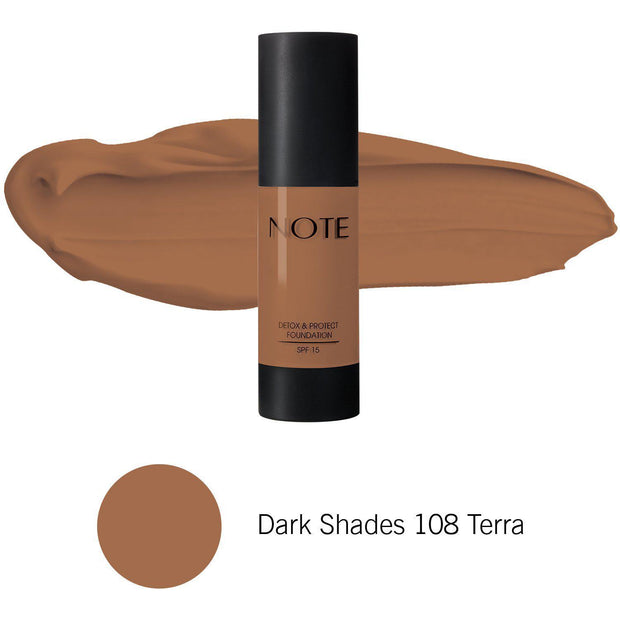 Detox & Protect Foundation-NOTE-Main Shades 01 Beige-Note Beauty