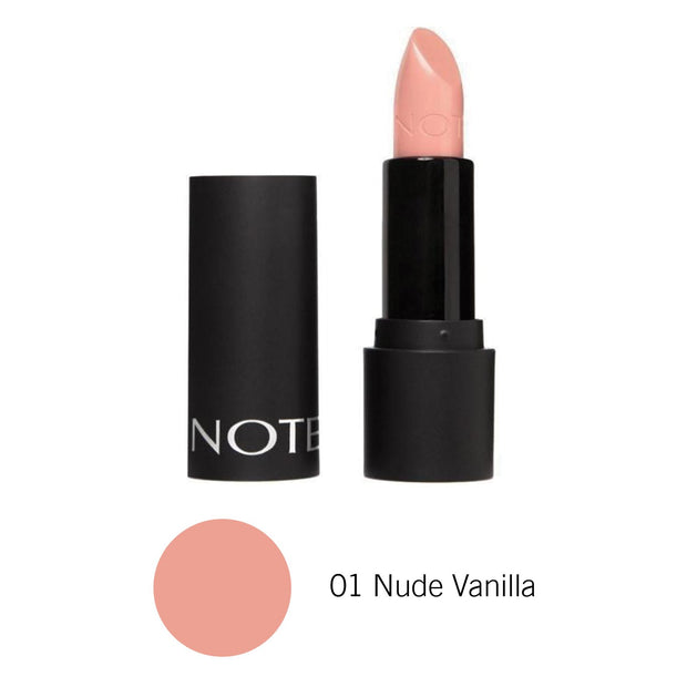 Top Makup Long Lasting Lipstick NOTE-01 Nude Vanilla Lon-Note Beauty