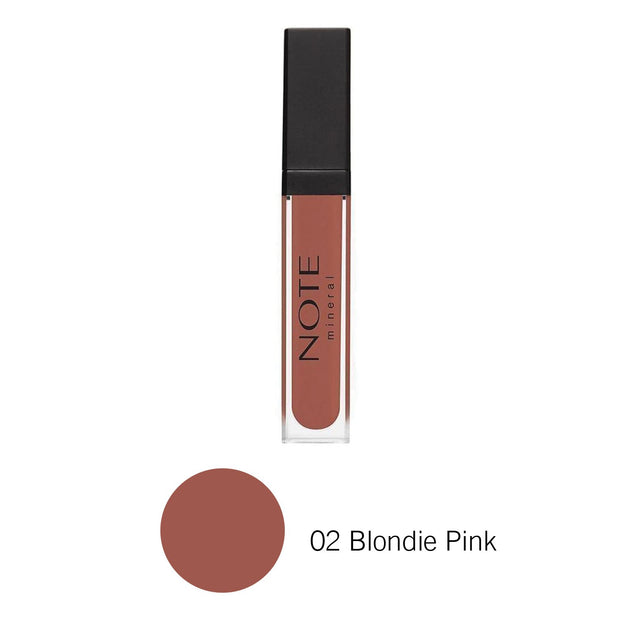 Mineral Lip Gloss-NOTE-02 Blondie Pink Note Canada Luxury Makeup Canada