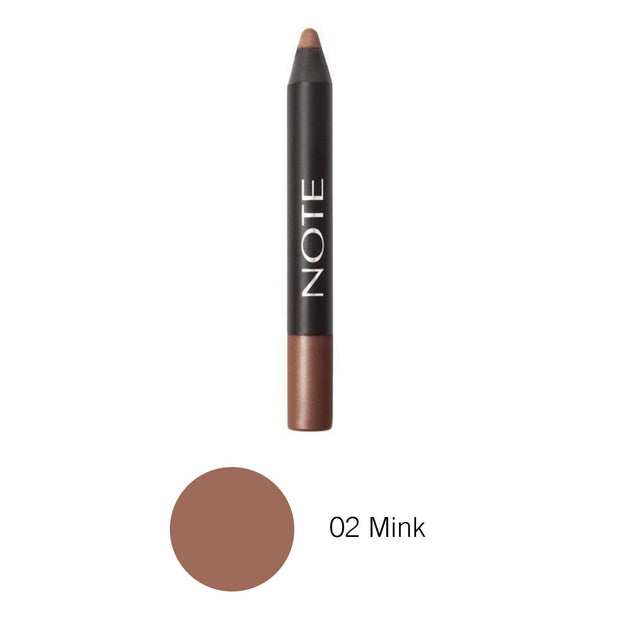 Trending Chubby Eyeshadow Pencil-NOTE-02 Mink Eyeshadow Pen-Note Cosmetics Canada