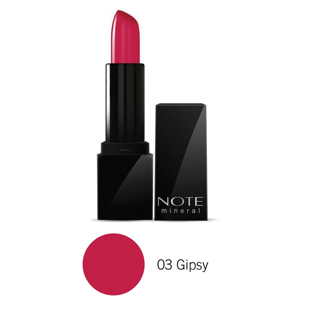 Make up Mineral Semi Matte Lipstick-NOTE-03 Gipsy-Note Canada