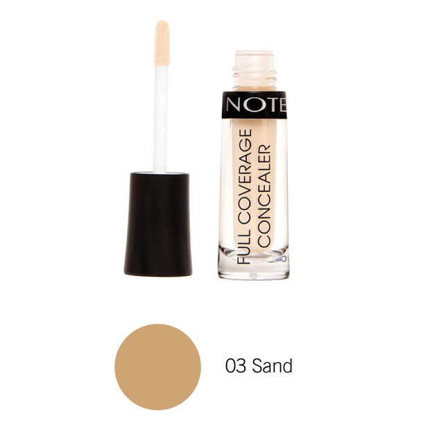 Full Coverage Liquid Concealer-NOTE-03 Sand FCL-Note Beauty