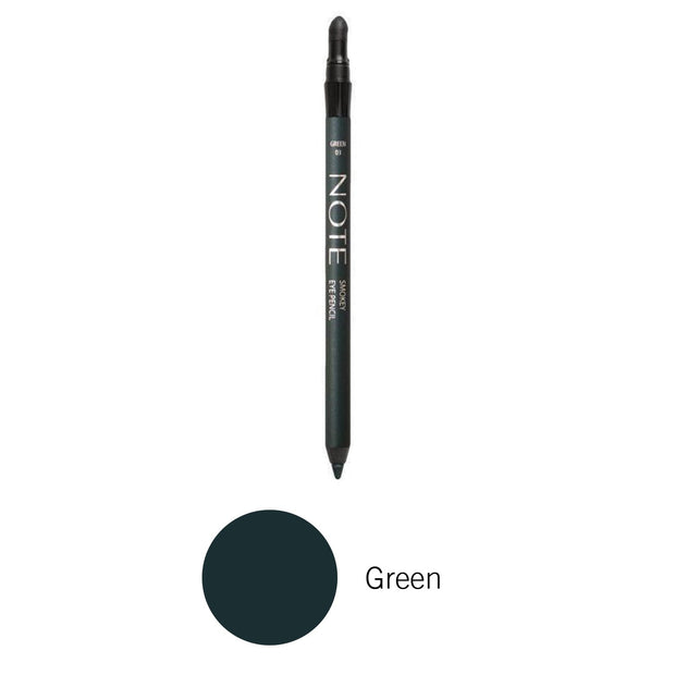 Smokey Eye Pencil-NOTE-Green-Note Beauty Trending Waterproof Eye Pencil