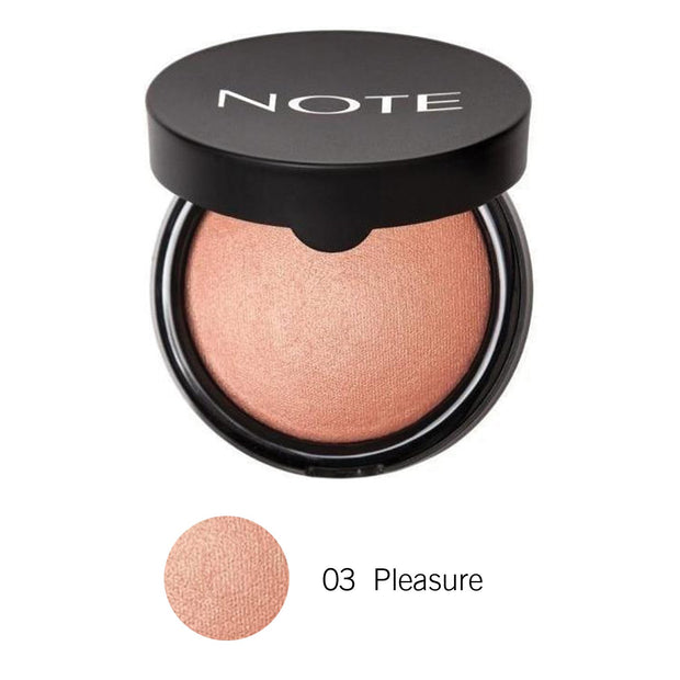 Terracotta Blusher-NOTE-03 Pleasure Terracotta Blusher-Note Beauty