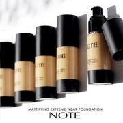 Mattifying Extreme Wear Foundation-NOTE-Main Shades 01 Beige-Note Beauty