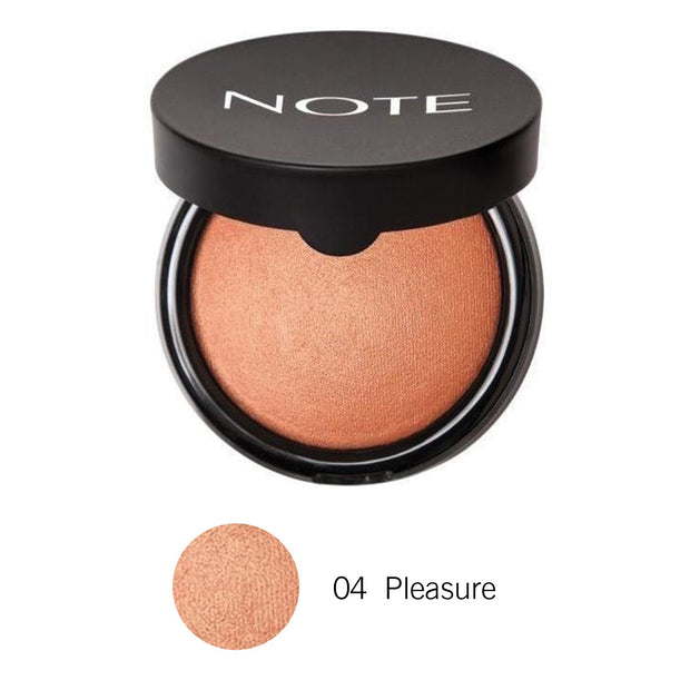 Terracotta Blusher-NOTE-04 Pleasure Terracotta Blusher-Note Beauty