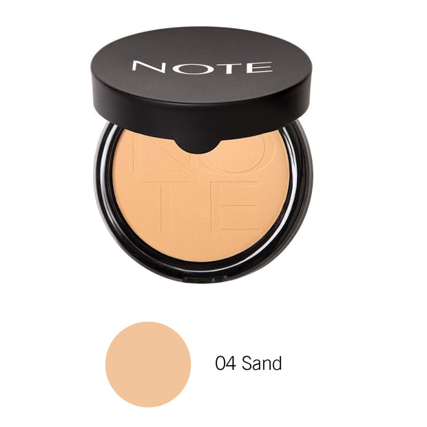 Luminous Silk Compact Powder-NOTE-04 Sand Com-Note Beauty