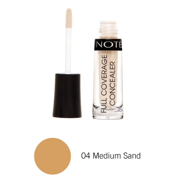 Full Coverage Liquid Concealer-NOTE-04 Medium Sand FCL-Note Beauty