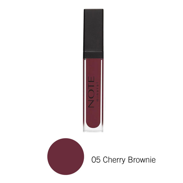 Luxury Mineral Lip Gloss-NOTE 05 Cherry Brownie