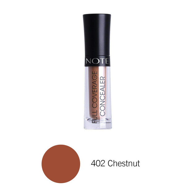 Full Coverage Liquid Concealer-NOTE-402 Chestnut FCL-Note Beauty