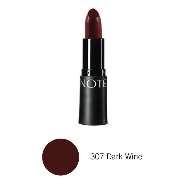Matte Lipstick Mattemoist Lipstick-NOTE-307 Dark Wine-Note Beauty