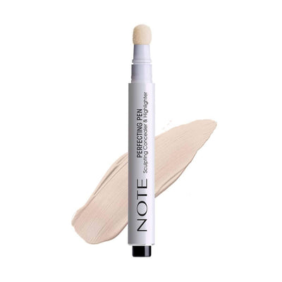 Perfecting Concealer & Highlighter Pen-Note Beauty-01 Light Rose Note Cosmetics Canada