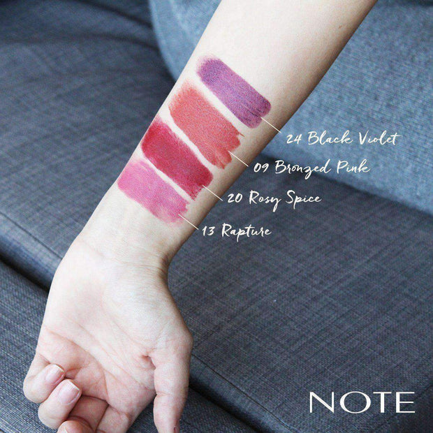 Long Wearing Lipstick Makeup -NOTE-01 Nude Vanilla Lon-Note Cosmetics Canada