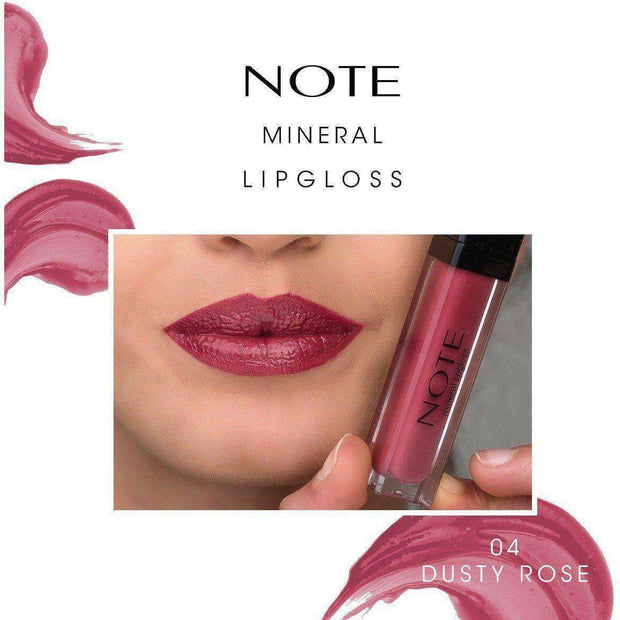 Mineral Lip Gloss-NOTE-01 Coraline Note Canada Luxury Makeup Canada