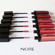 Get color and shine without the stickiness Mineral Lip Gloss-NOTE-01 Coraline-Note Beauty