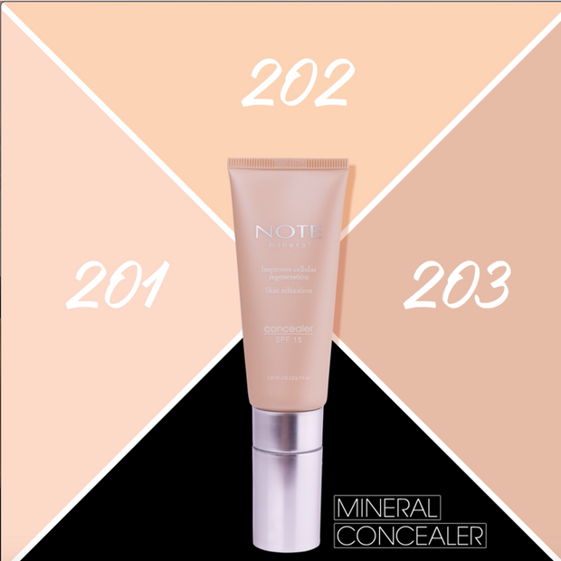 Mineral Concealer Makeup Note Cosmetics Canada