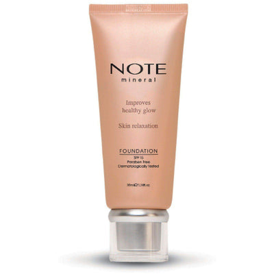 Mineral Foundation-NOTE-401 Mineral Foundation-Note Beauty