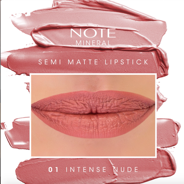 Top Seller Trending Long Wearing Mineral Semi Matte Lipstick Note Cosmetics Canada