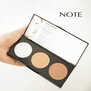 Perfecting Contour Kit Cream Palette-Note Beauty-01 Light to Medium-Note Beauty