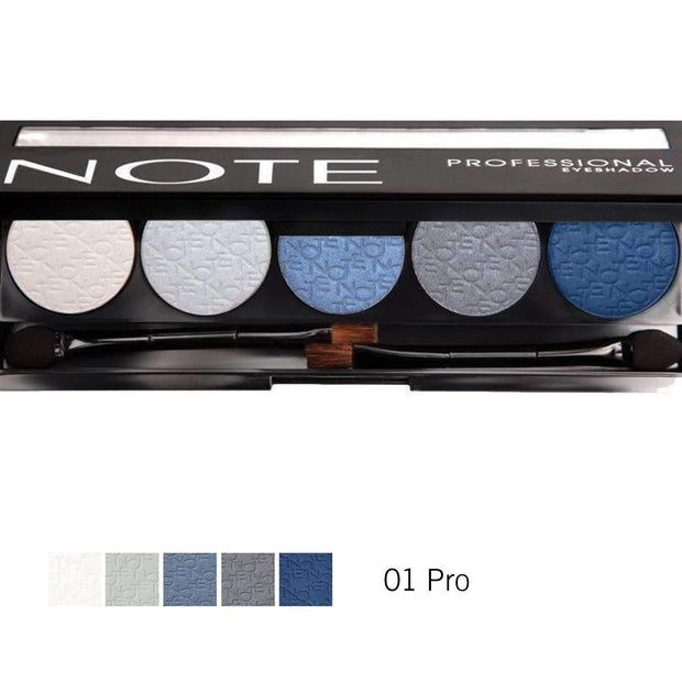 Professional Eyeshadow Palette - Note Beauty