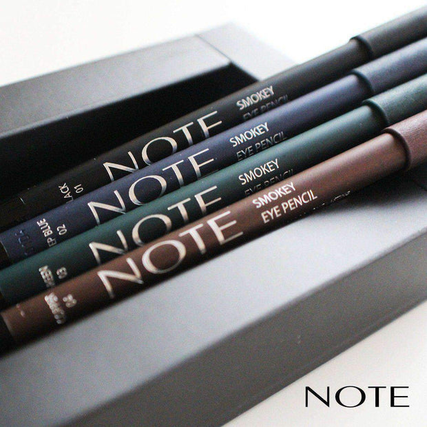 Smokey Eye Pencil-NOTE-Black-Note Beauty Top Long Lasting Eye Pencil
