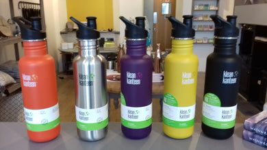 Klean Kanteen 800ml coloured bottle