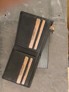Foxfield leather Scafel wallet