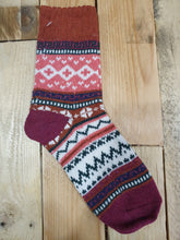 Load image into Gallery viewer, Ladies Nordic socks