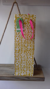 Patterned Bottle Bags