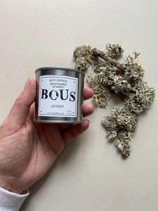 Bous scented Soy Wax Candles