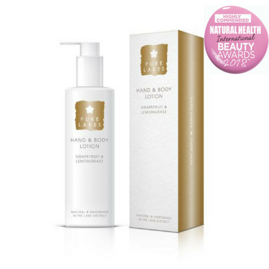 Pure Lakes Grapefruit & Lemongrass Hand & Body Lotion