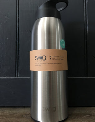 Swig wide mouth insulated bottle