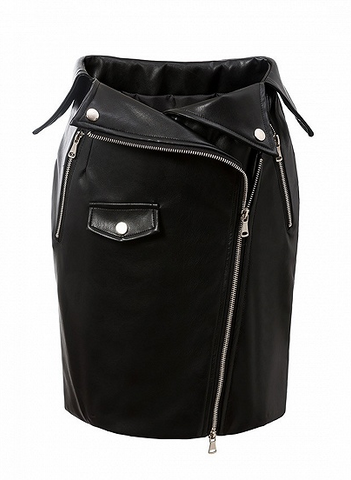 Picture of Overbend Mini Skirt
