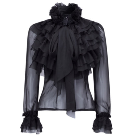 Picture of Saddity Ruched Blouse