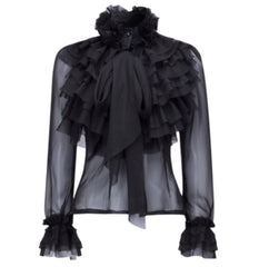 Saddity Ruched Blouse
