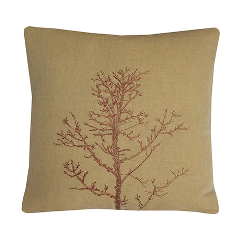 Arboretum / Winter Tree Cushion Cover / Bronze