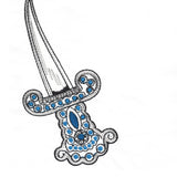 What's Under Your Pillow? - A Jewelled Dagger!