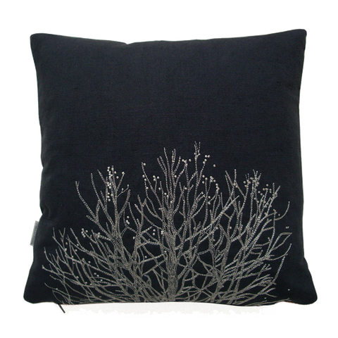 Arboretum / London Plane Tree Cushion Cover / Poppyseed