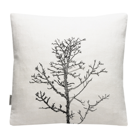 Arboretum / Winter Tree Cushion Cover / White