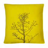 Arboretum / Winter Tree Cushion Cover / Yellow