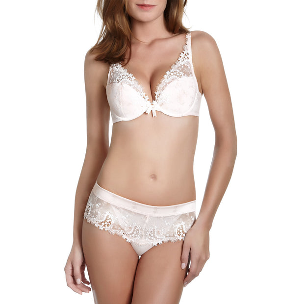 Wish Push-Up Plunge Bra Ivory
