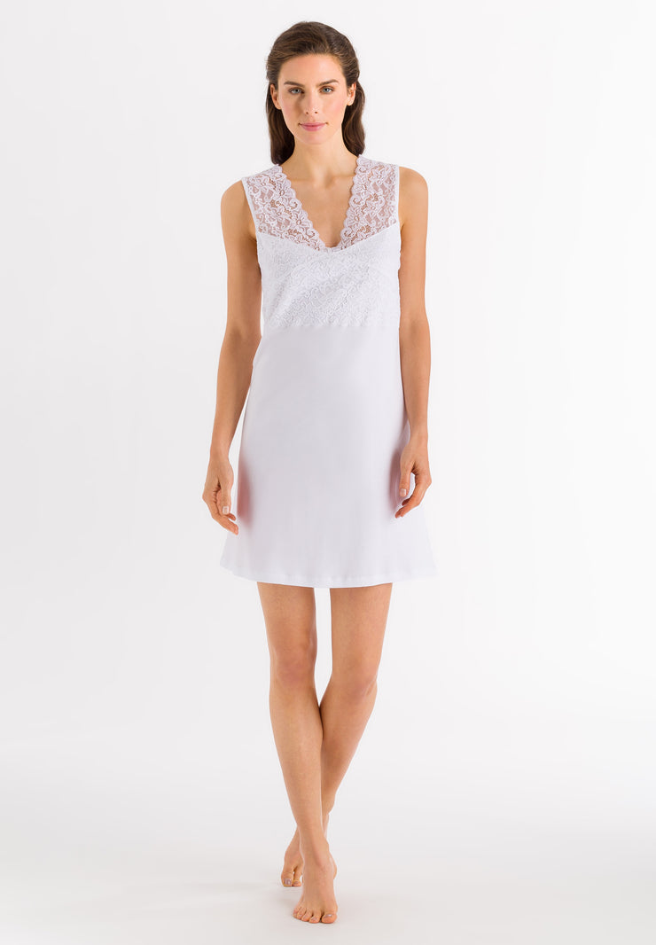 Moments Sleeveless Nightdress White