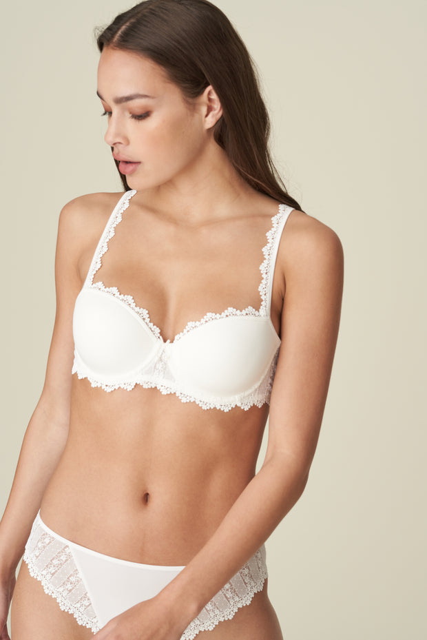 Christy Padded Balcony Bra Natural