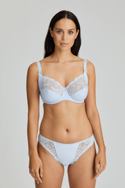 Deauville Soft Cup Underwired Bra Heather Blue