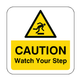 Watch Your Step Floor Graphics Sticker | Safety-Label.co.uk